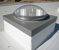 21 Commercial Curb Mounted Skylight